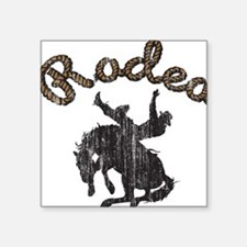 """33038509rodeotrans2.png Square Sticker 3"""" x 3"""""""