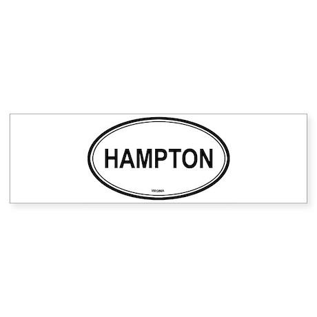 Hampton (Virginia) Bumper Sticker