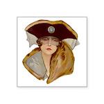 Glamour Girl - Beatrice Square Sticker 3