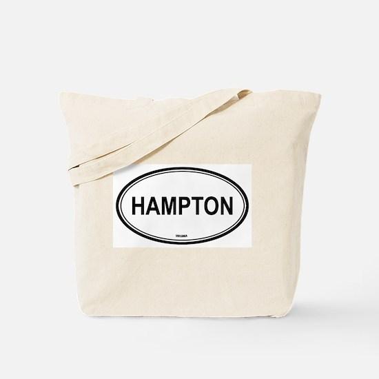 Hampton (Virginia) Tote Bag