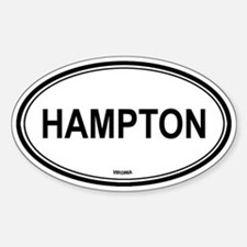 Hampton (Virginia) Oval Decal