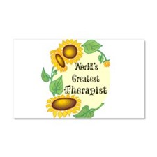 1058h9035worlds greatest therapist.png Car Magnet