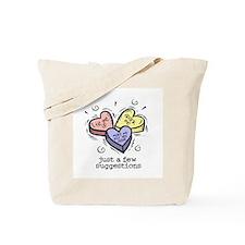A Few Suggestions Tote Bag