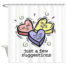 A Few Suggestions Shower Curtain