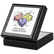 A Few Suggestions Keepsake Box