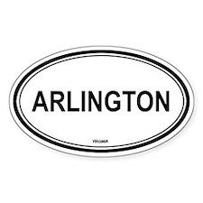 Arlington (Virginia) Oval Decal