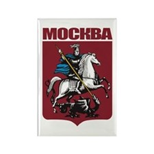 Moscow COA.png Rectangle Magnet