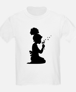 African American Girl Child T-Shirt