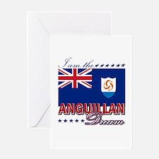 I am the Anguillan Dream Greeting Card