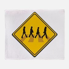 Abbey Road Xing Throw Blanket