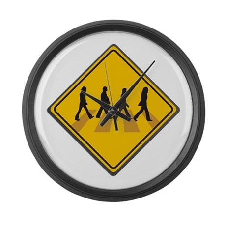 Abbey Road Xing Large Wall Clock