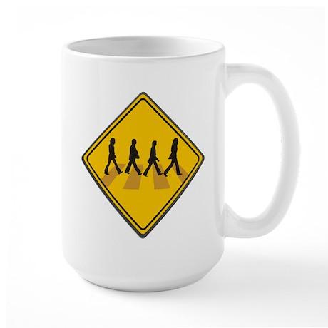 Abbey Road Xing Large Mug