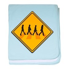 Abbey Road Xing baby blanket
