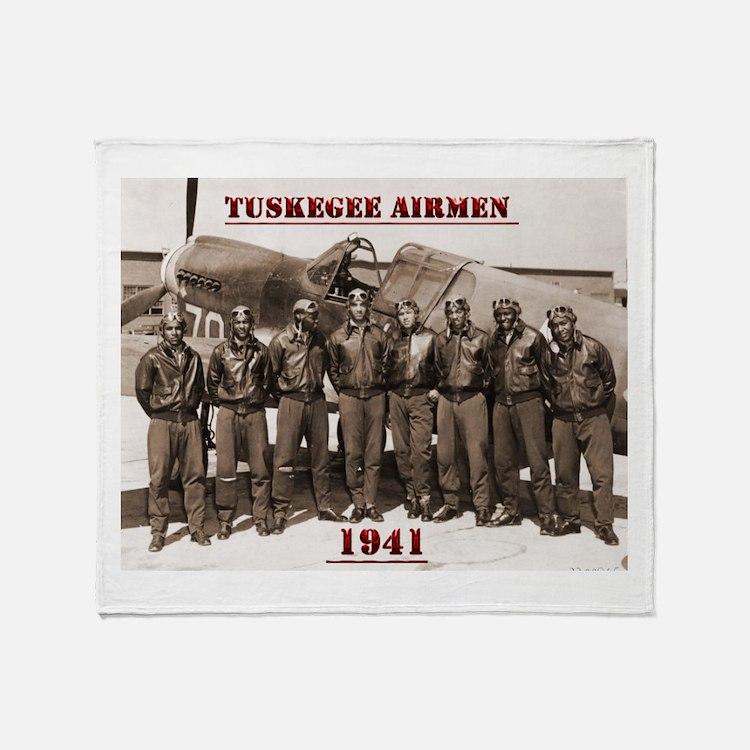 Airmen41 Throw Blanket