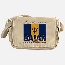 I am the Bajan Dream Messenger Bag