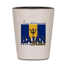 I am the Bajan Dream Shot Glass