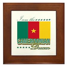 I am the Cameroonian Dream Framed Tile