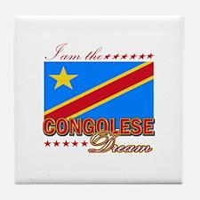 I am the Congolese Dream Tile Coaster