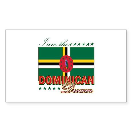 I am the Dominican Dream Sticker (Rectangle)