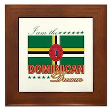 I am the Dominican Dream Framed Tile