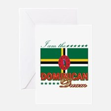 I am the Dominican Dream Greeting Card