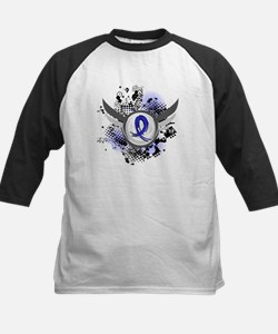 Wings and Ribbon Colon Cancer Tee