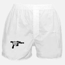 Han Shot First Gun Boxer Shorts