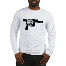 Han Shot First Gun Long Sleeve T-Shirt