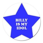 star-billy.png Round Car Magnet