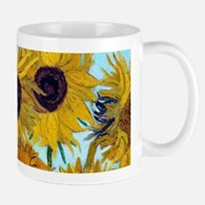 Van Gogh - Sunflowers Small Mugs