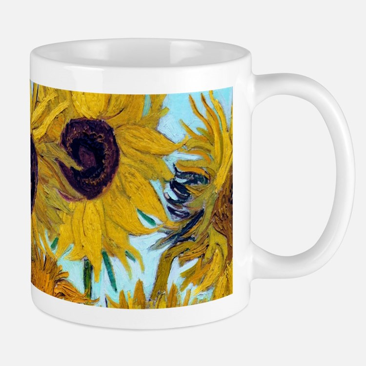 Van Gogh - Sunflowers Small Small Mug
