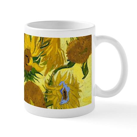 Van Gogh - 15 Sunflowers Mug