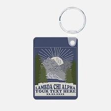 Lambda Chi Alpha Mountain Keychains