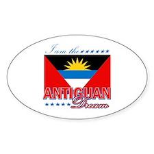 I am the Antiguan Dream Decal
