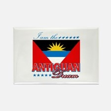 I am the Antiguan Dream Rectangle Magnet