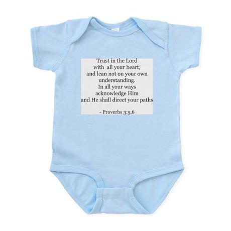Proverbs 3:5,6 Infant Creeper