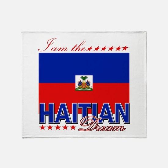 I am the Haitian Dream Throw Blanket