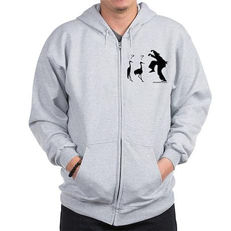 Crane VS Ninja Zip Hoodie