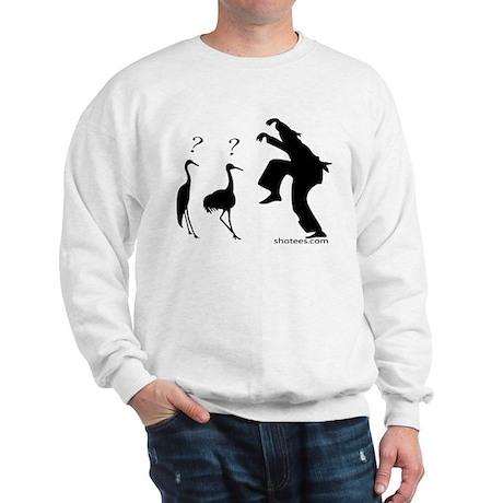 Crane VS Ninja Sweatshirt