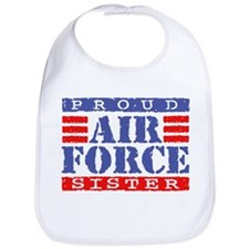 Proud Air Force Sister Bib