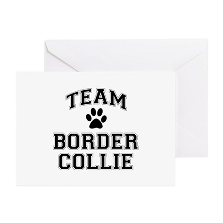 Team Border Collie Greeting Cards (Pk of 20)