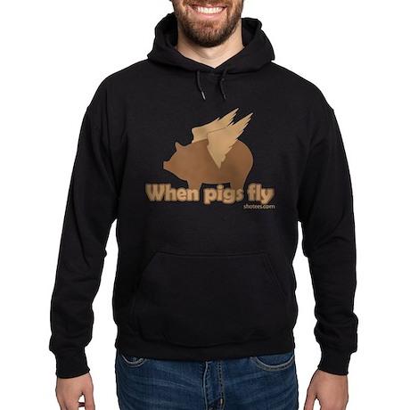 When Pigs Fly Hoodie (dark)