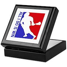 All I do is win Lacrosse designs Keepsake Box