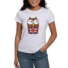 London Union Jack Owl Tee