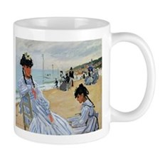 Monet - Trouville Beach Mug