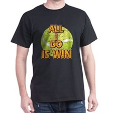 All I do is win Lawn Tennis designs T-Shirt