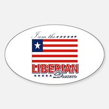 I am the Liberian Dream Decal