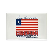 I am the Liberian Dream Rectangle Magnet (10 pack)