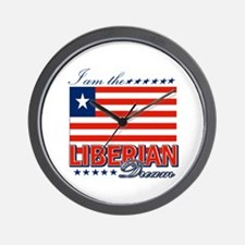 I am the Liberian Dream Wall Clock