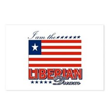 I am the Liberian Dream Postcards (Package of 8)